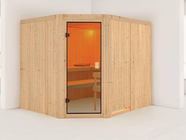 Karibu Sauna Horna 68 mm