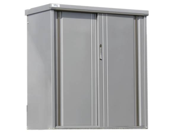 Wolff Finnhaus Geräteschrank 135 rauchgrau Metall-Geräteschrank ohne Regale