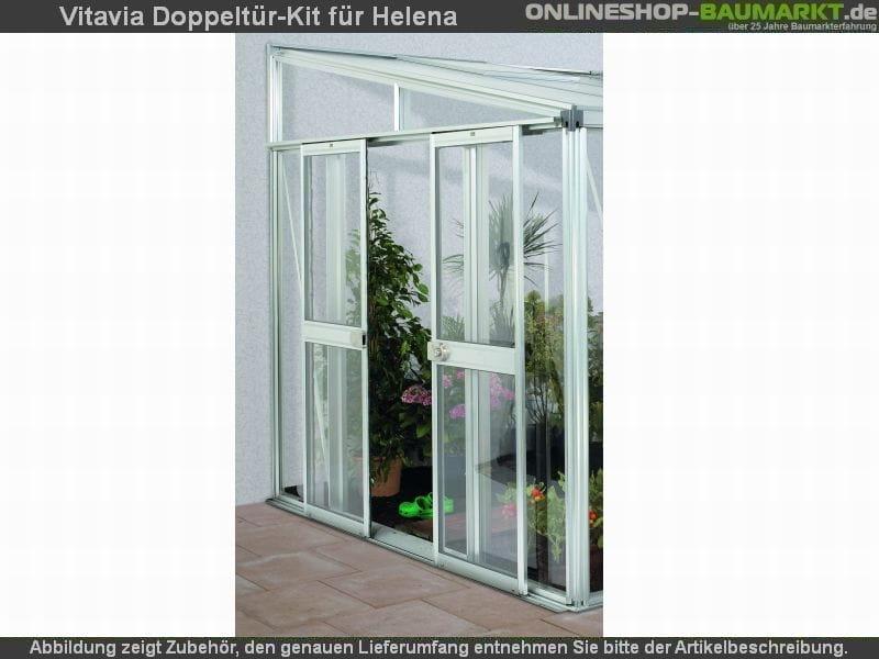 Vitavia Doppeltür- Kit für Helena Alu