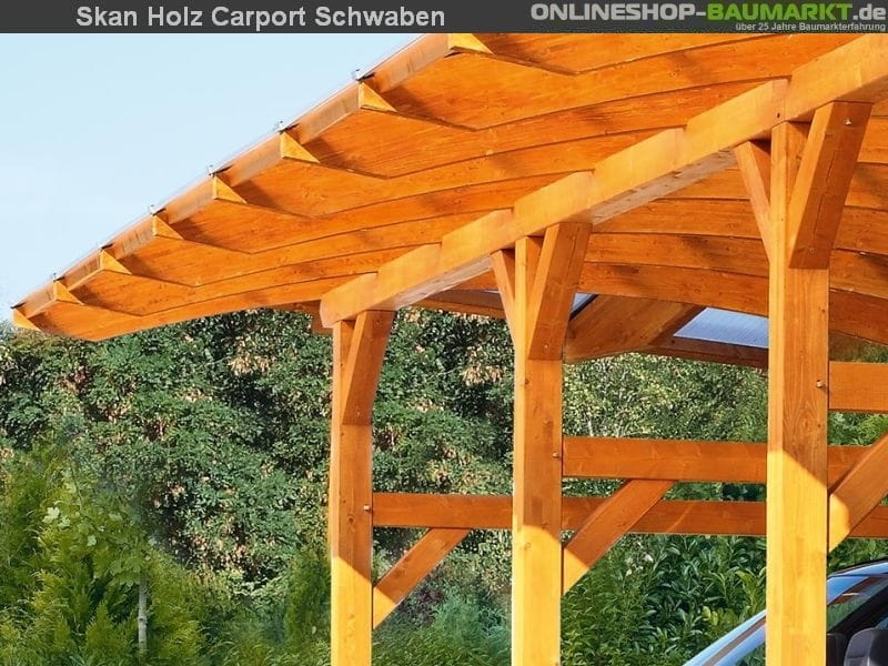 skan holz carport schwaben runddach 648 x 630 cm 245062 doppelstegplatte. Black Bedroom Furniture Sets. Home Design Ideas