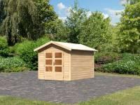 Karibu Woodfeeling Gartenhaus Tastrup 4