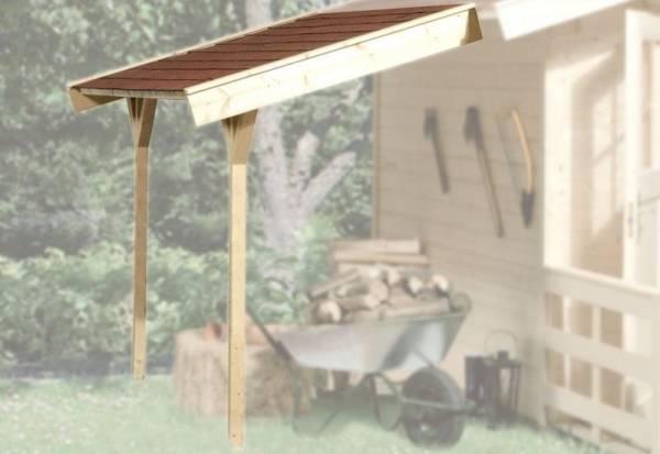 Weka Schleppdach für BBH ab Haustiefe 200 cm
