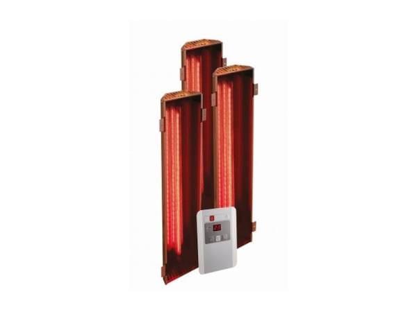 Karibu Vitamy-Strahler Set A Infrarot-Strahler 1 x 350 Watt, 2 x 750 Watt