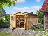 Karibu Woodfeeling Gartenhaus Seefeld 4