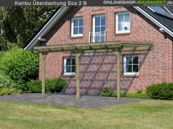 Karibu Terrassenüberdachung ECO Modell 2 Größe B