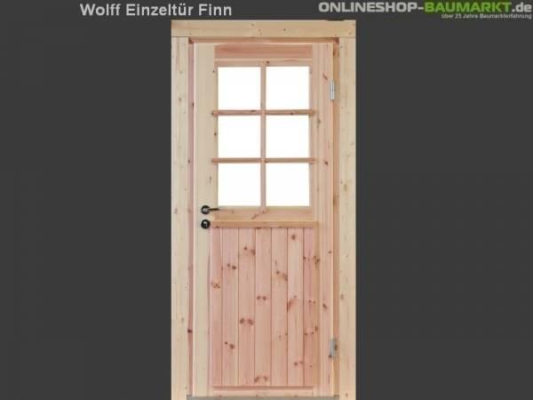 Wolff Finnhaus Einzeltür Finn 44 isoliert