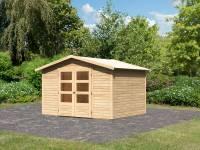 Karibu Woodfeeling Gartenhaus Amberg 5