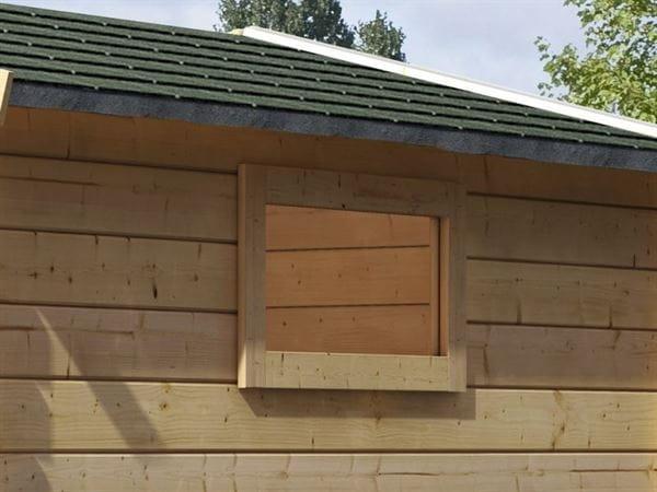 Karibu längliches Fenster für 38 mm Dreh-Kipp Fenster