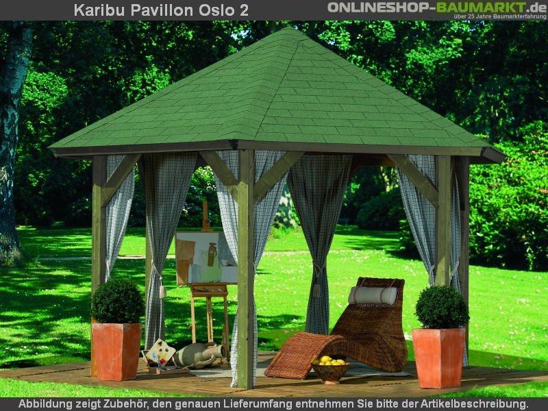 karibu 6 eck pavillon classic oslo 2 kdi kompakter 6 eck pavillon classic mit einfach zu. Black Bedroom Furniture Sets. Home Design Ideas