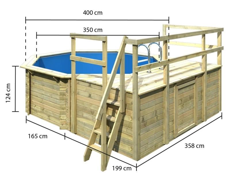 Karibu pool modell 1 variante d bei osb for Pool skimmer obi