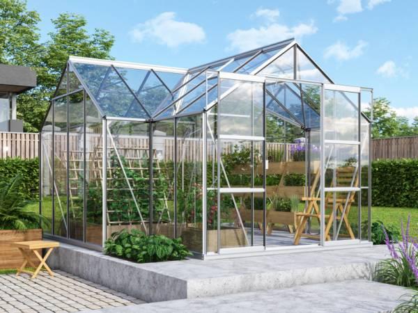Vitavia Gewächshaus Sirius Orangerie ESG 3 mm Alu