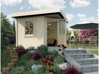Weka Gartenhaus 5-Eck-Haus 213 Gr 1 natur