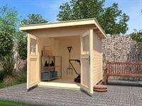 Weka Gartenhaus 179 Größe 2 naturbelassen
