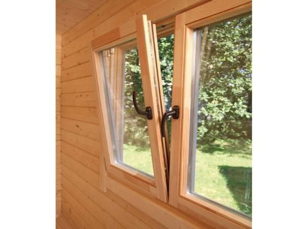 Wolff Finnhaus Doppelfenster 70 Einhand