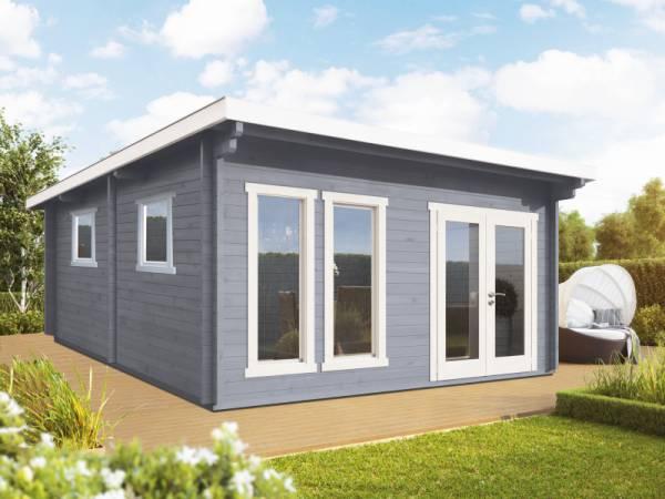 Wolff Finnhaus Pultdachhaus Kiruna G XL 3-Raum