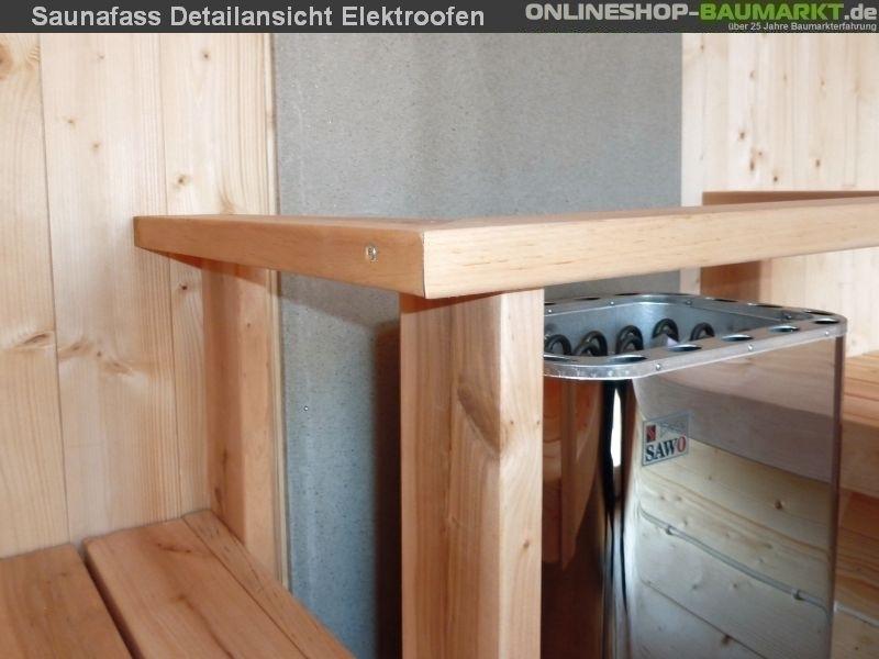 wolff finnhaus saunafass 220 fasssauna fass sauna 310225. Black Bedroom Furniture Sets. Home Design Ideas