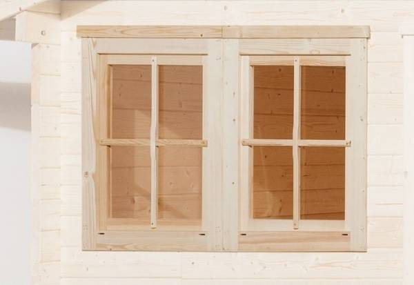 Weka Doppelfenster 45 mm 138 x 79 cm