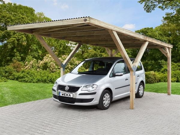 Weka Carport Y-Carport mit PVC Dach