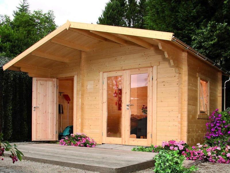 gartenhaus modern sonstige preisvergleiche. Black Bedroom Furniture Sets. Home Design Ideas