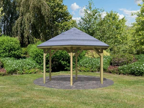 Karibu 6-Eck Pavillon Classic Oslo 2 kdi