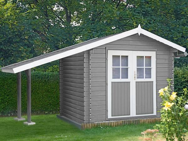 Wolff Finnhaus Schleppdach A natur