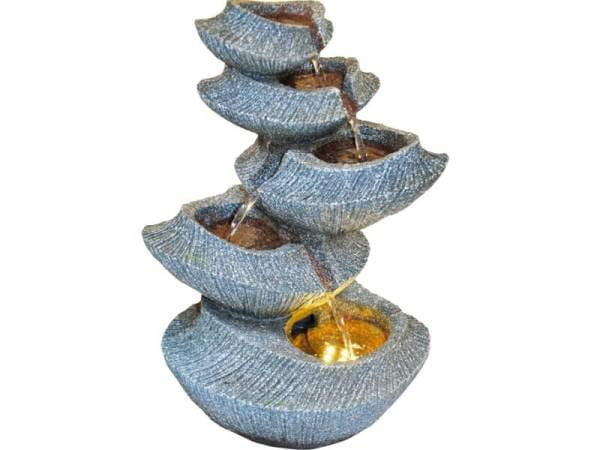 Granimex Yoga Raumbrunnen inkl. Pumpe und LED-Beleuchtung