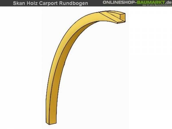 Skan Holz Einfahrtsbogen für Carports 11,5 x 12 cm