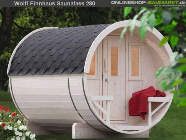 Wolff Finnhaus Saunafass 280