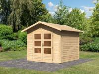 Karibu Woodfeeling Gartenhaus Talkau 4