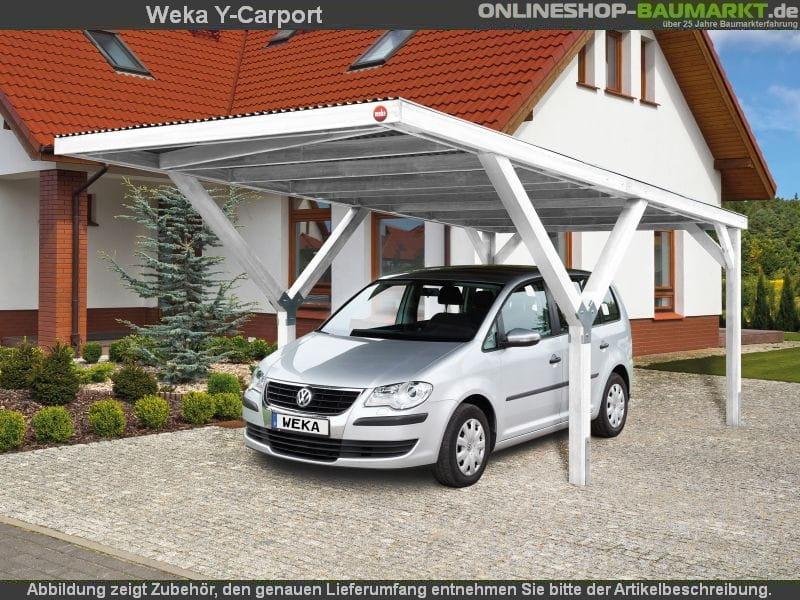 Weka Y Carport : weka carport y carport duo kdi carport mit extravaganter y konstruktion ~ Sanjose-hotels-ca.com Haus und Dekorationen