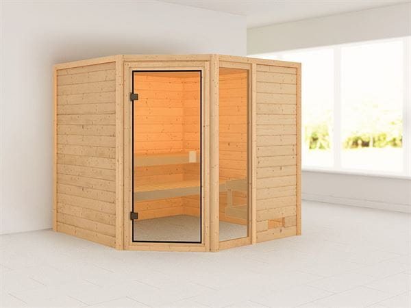 Karibu Woodfeeling Sauna Tabea 38 mm
