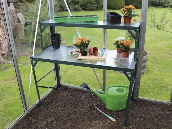 Vitavia Aluminium-Tischaufsatz mit HKP und grün