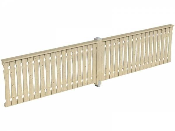 Skan Holz Brüstung für Pavillons 465 cm Balkonschalung