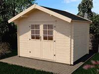 Weka Gartenhaus 209 Größe 2.5