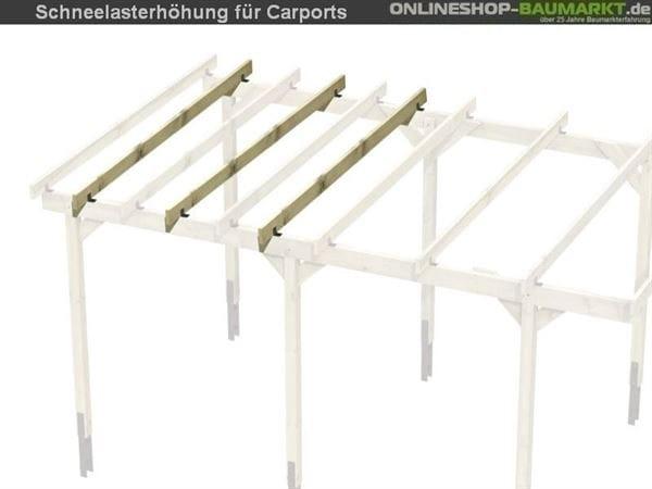 Skan Holz Schneelasterhöhung auf 2,50 kN / qm für Carports