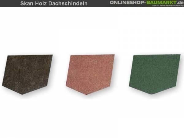 Skan Holz Dachschindeln grün