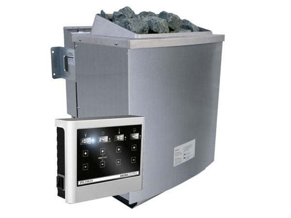 Karibu Bio-Kombiofen 9,0 kW externe Steuerung Easy und Steine