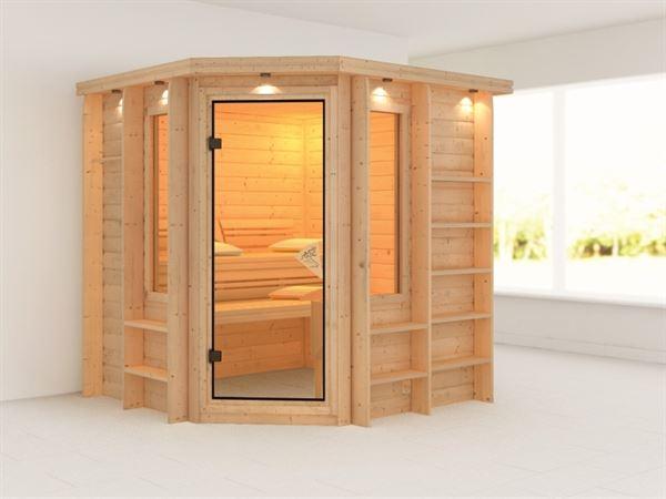 Cortona - Karibu Sauna Premium ohne Ofen