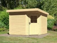 Karibu Woodfeeling Gartenhaus Neuruppin 3 natur 28 mm