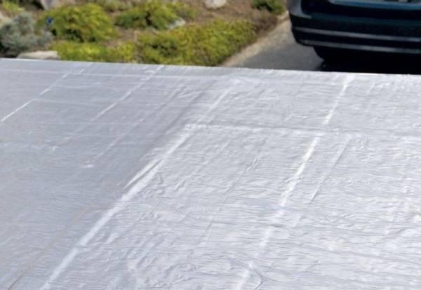 selbstklebende Dachbahn 5 qm für Flachdachhäuser