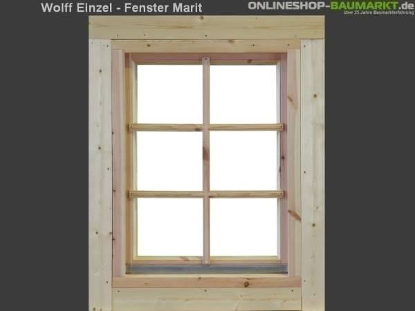 Wolff Finnhaus Einzelfenster Marit 70 Isoliert