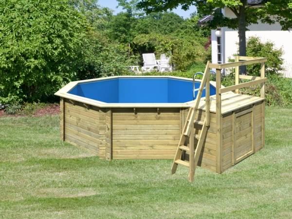 Karibu Pool Modell 2 Variante B im Sparset Komfort