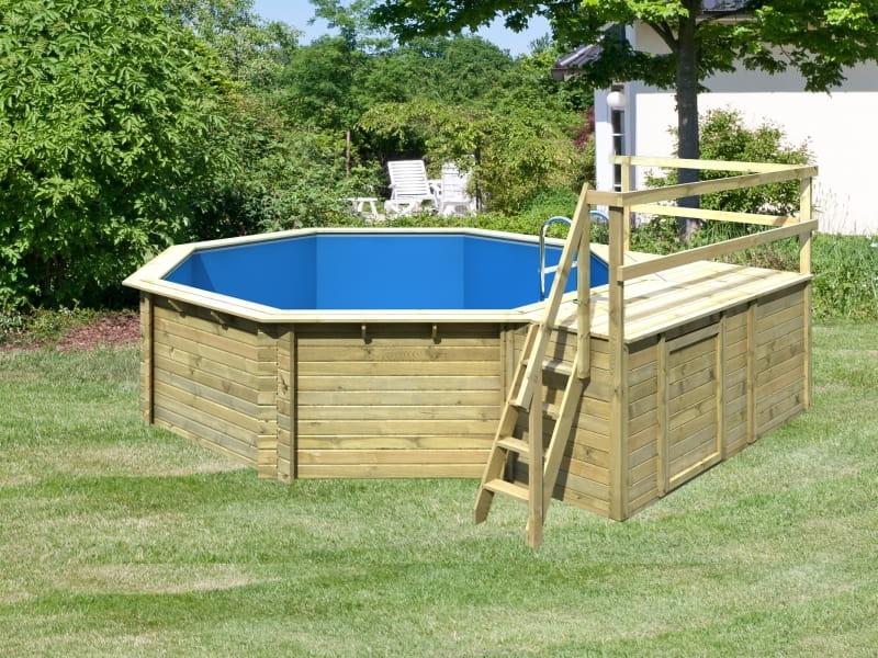 karibu holz pool modell 2 variante c. Black Bedroom Furniture Sets. Home Design Ideas