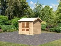 Karibu Woodfeeling Gartenhaus Tastrup 3