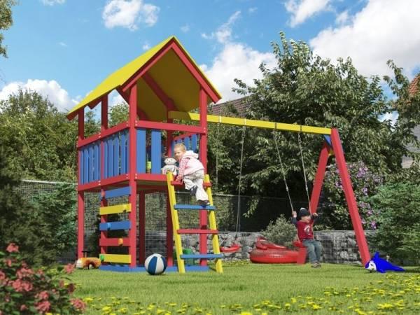 Akubi Spielturm Zirkusturm