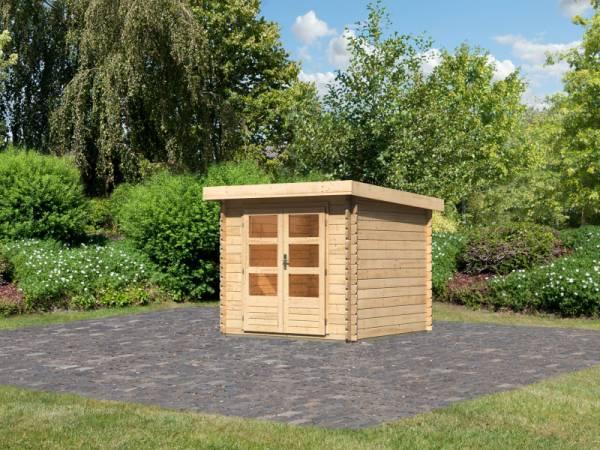 Karibu Woodfeeling Gartenhaus Bastrup 2