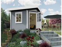 Weka Gartenhaus 5-Eck-Haus 213 Gr 1 grau
