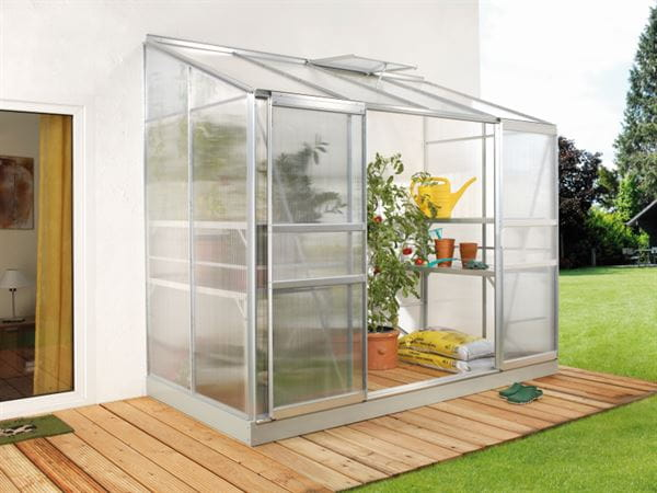 Vitavia Gewächshaus Ida 3300 HKP 4 mm Alu