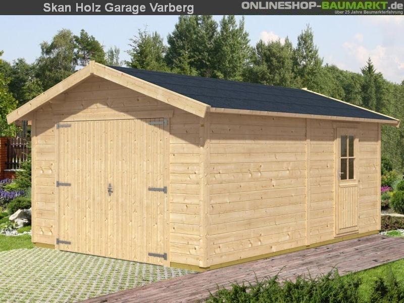 Skan Holz Garage Varberg 370 x 525 cm