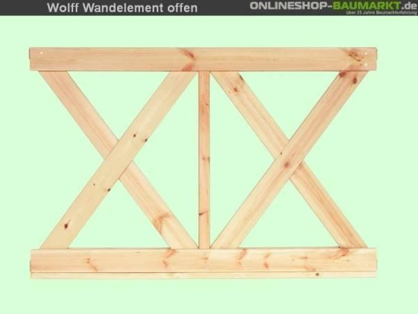 Wolff Finnhaus Wandelement X klein Kreta 8